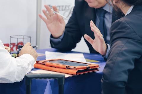 Imagen de una reunión de personas